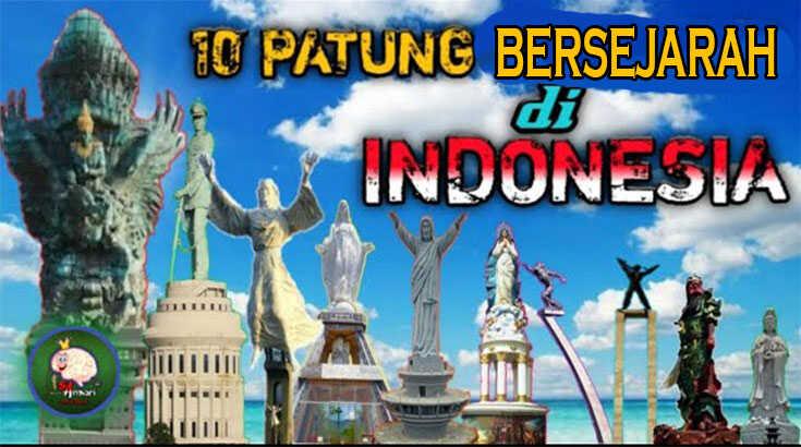 10 Patung Bersejarah Di Indonesia